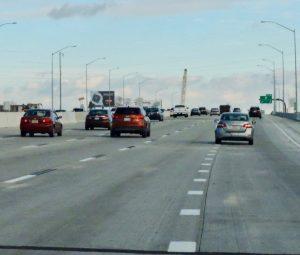 New four-lane section of I-95 near Cottman Avenue