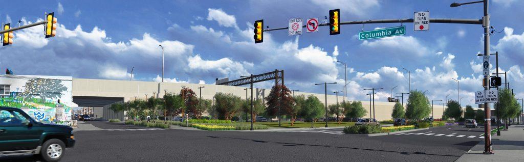 Penn Treaty Park rendering