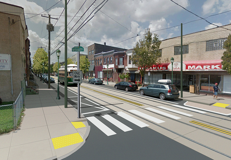 Rendering of Richmond Street improvements